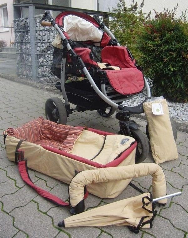 Naturkind Kinderwagen Varius mit viel