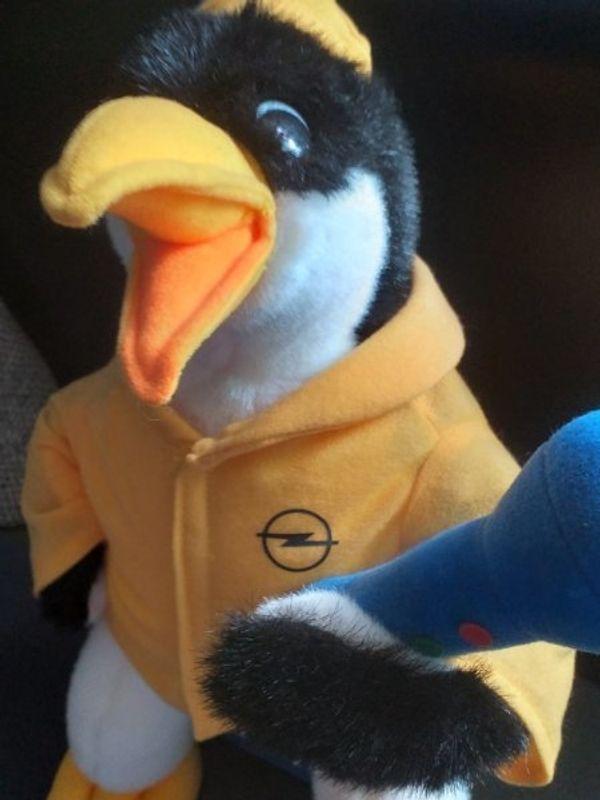 Opel Pinguin Stofftier Maskottchen