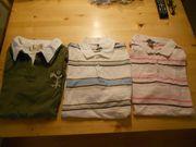 3 schöne Poloshirts in Gr
