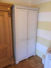 Paidi Kinderzimmer Kleiderschrank Echtholz weiß