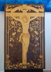 Holzbild Jesus