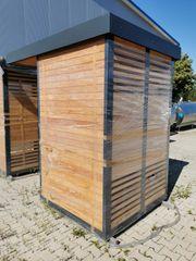 Verkaufsautomaten Hütte als B-Ware für