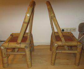 2 Stück Bambus Stühle für: Kleinanzeigen aus Nürnberg Rosenau - Rubrik Sonstiges für den Garten, Balkon, Terrasse