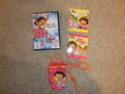 SET DORA DVD Minibücher Nickelodeon