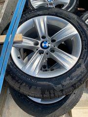 4x BMW Alu-Felgen mit Pirelli