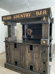 Schanktisch Bar Möbel holz Kommode