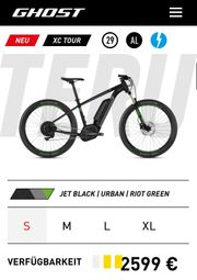 E Bike Gohst Hybrid Teru