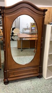 Hochwertige Vitrine geschliffener Spiegel - LD09021