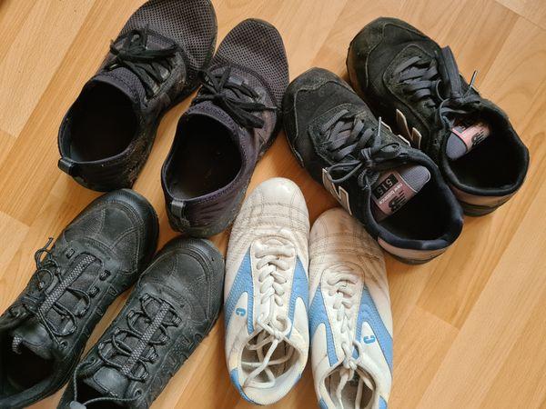 Günstige getragene Schuhe