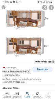 Wohnwagen Knaus 500 FDK