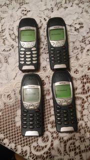 4 Nokias 6210 Gebraucht