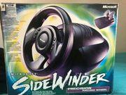 Microsoft sidewinder lenkrad PC