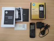 RESERVIERT - Motorola W156 - Schwarz ohne