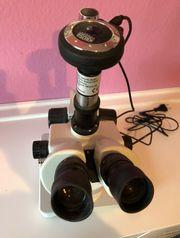Mikroskop KRÜSS MSZ5000-T-S-R-L inkl Digikamera