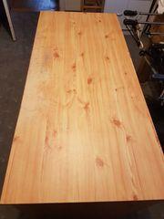 Schreibtisch Holzoptik - Kiefer - schwere Qualität