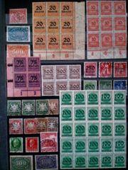Briefmarken Deutsches Reich - Altdeutschland