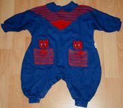 Blauer Strampler - Größe 68 - Strampel-Anzug - Overall