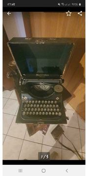 Mercedes Prima Antike Schreibmaschine