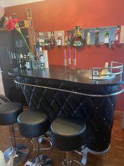 schwarze Rockstar Bar Lupo Design