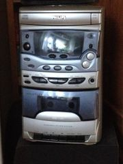 Radio-CD-Kassettenrekorder