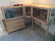 Meerschweinchen Käfig aus Holz mit