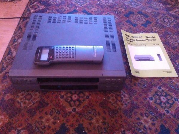 Biete VHS Videorekorder Universum VCR