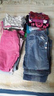 28teiliges Kleiderpaket für Mädchen Gr