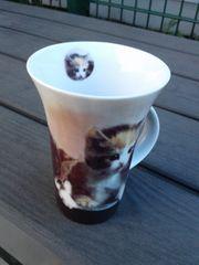 Tasse mit Kätzchen