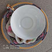 chinesische Teetasse mit Vogelmotiv neu