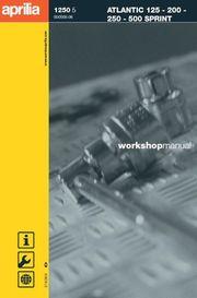 Werkstatthandbuch WHB für den Aprilia