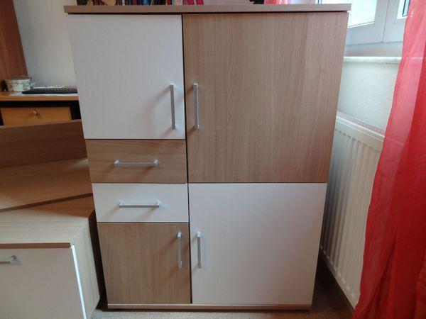 Schrankwand Modernes Design 5 Teile