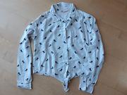 Knoten-Bluse für Mädchen Gr 158