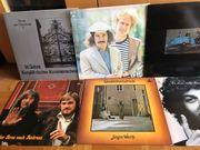 Sammlung von 40 Schallplatten gemischt