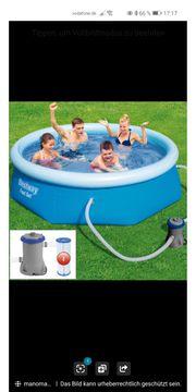 Bestway pool fast set