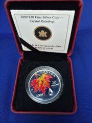 Silbermünze Kanada 20 Dollar mit