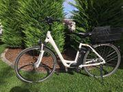 E-Bike fast NEU