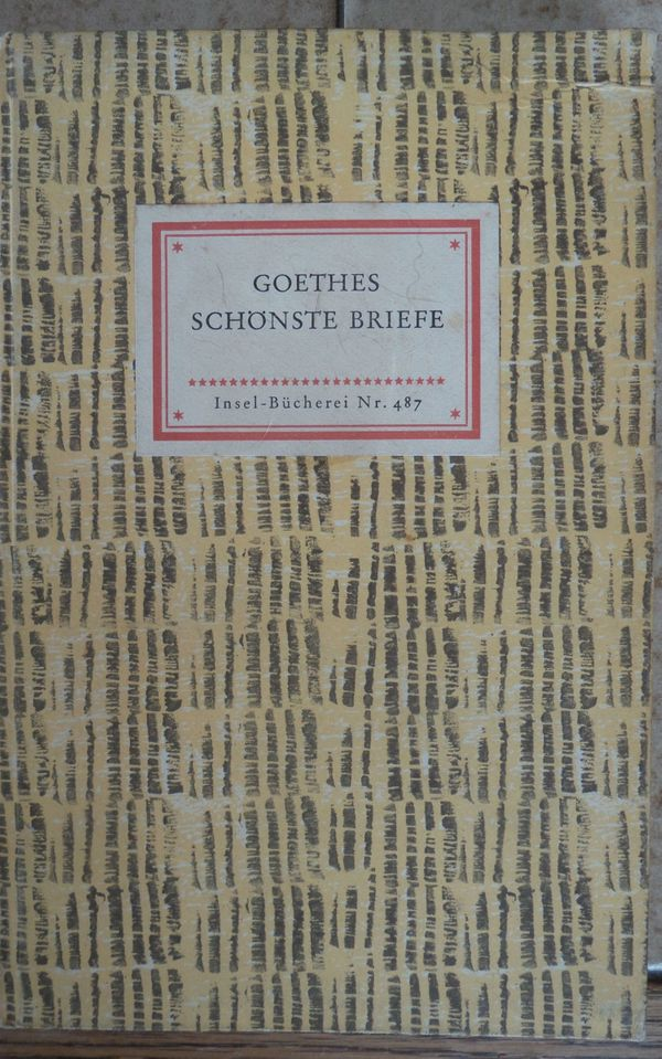 Goethes schönste Briefe
