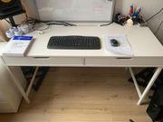 Schreibtisch Ikea Alex weiß super