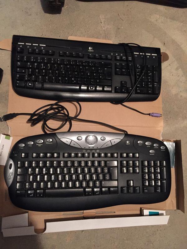Tastaturen Logitech Keyboards verschieden