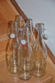 Flaschen mit Bügelverschluss 5 Stück
