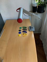 Schreibtisch-Leuchte Moll Mobilight
