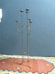 Metallkerzenständer Kerzenleuchter 6-flammig 1m hoch -