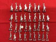 Franz Musikzug 30mm Zinnfiguren