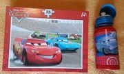 Cars Stickeralbum Puzzle ab 4