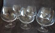 6 Stk Cognac - Gläser als