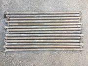 14 Beregnungsrohre inkl Bajonettverschluss Wasserleitungen