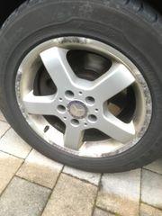 Original Mercedes Alu-Felgen Winterreifen