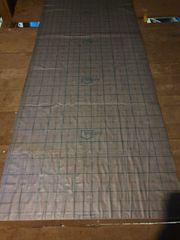 Dämmmatten für Fußbodenheizung