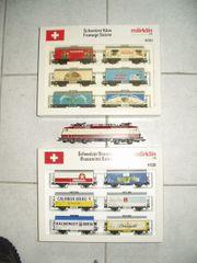 Märklin HO Schweizer Güterzug mit