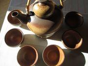 Tee-Service mit Stövchen Keramik 6